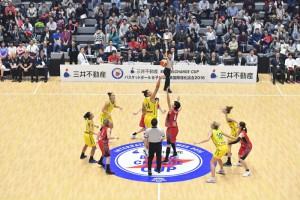 バスケットボール女子日本代表国際強化試合 2018 三井不動産カップ 新潟大会