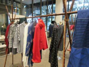 久留米絣の洋服 と フェルト&ガラス 展